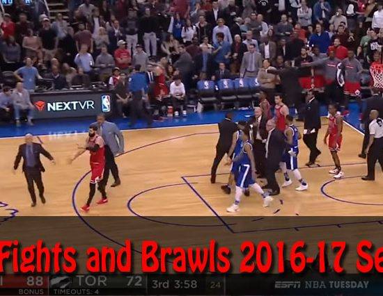 NBA Fights and Brawls 2016-17 Season
