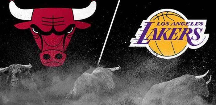 รีวิวการแข่งล่าสุดระหว่าง Chicago Bulls vs Los Angeles Lakers