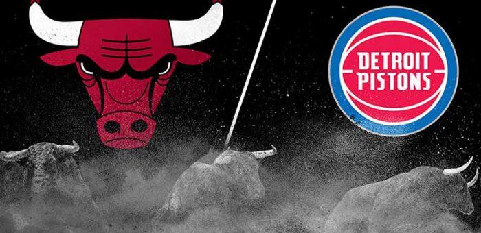 รีวิวการแข่งล่าสุดระหว่าง Chicago Bulls vs detroit pistons